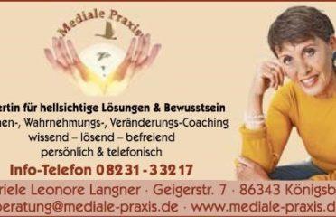 Mediale Praxis Gabriele Leonore Langner