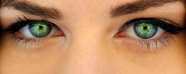 Augenmassage und Augenstimulation