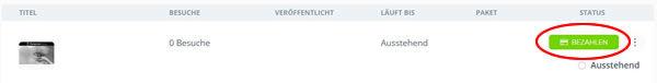 Dashboard-Einträge-BEZAHLEN