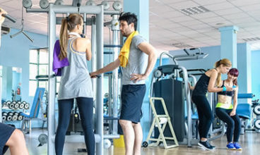 Fitnessstudio der Zukunft