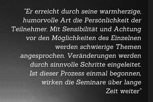 Persönlichkeitsseminare und Coaching | Roland Kopp-Wichmann